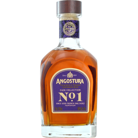 Angostura Rhum Vieux N° 1 16 ans cask collection 2ème edition canister 40° 70 cl Trinidad