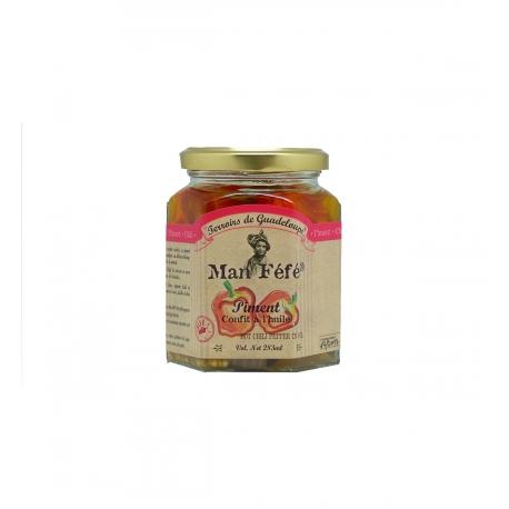 Man Féfé piment confit à l'huile 250 g