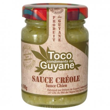 Toco sauce créole sauce chien 100 g Guyane