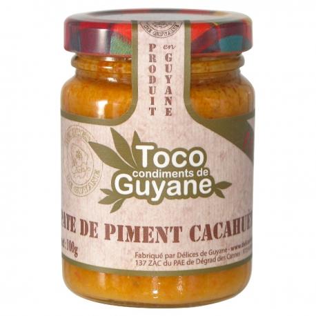 Toco pâte de piment aux cacahuètes100 g Guyane