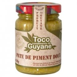 Toco pâte de piment doux 100 g Guyane