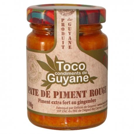 Toco pâte de piment rouge100 g Guyane