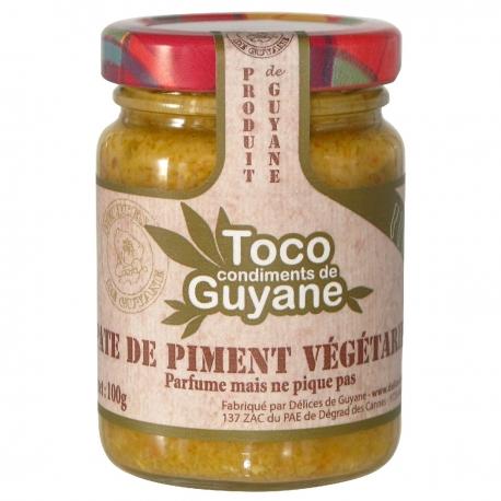 Toco pâte de piment vegetarien100 g Guyane