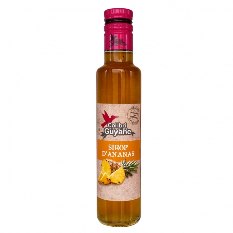 Colibri sirop d'ananas 25 cl Délices Guyane