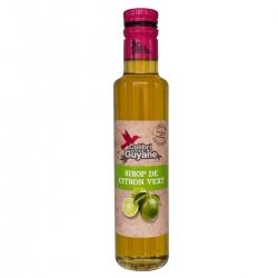 Colibri sirop au citron vert 25 cl Délices Guyane