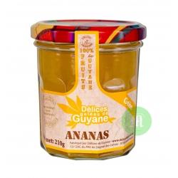 Délices Guyane confiture (gelée) d'ananas 210 g