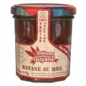 Délices Guyane Confiture Banane au Miel 210 g