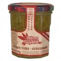 Délices Guyane Confiture Citron Vert Gingembre 210 g