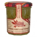 Délices Guyane Confiture Citron Vert Vanille 210 g
