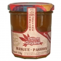 Délices Guyane Confiture Mangue Passion 210 g