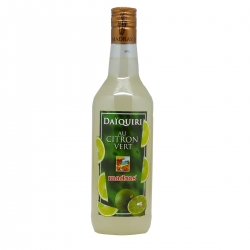 Madras cocktail daiquiri citron vert 70 cl Guadeloupe