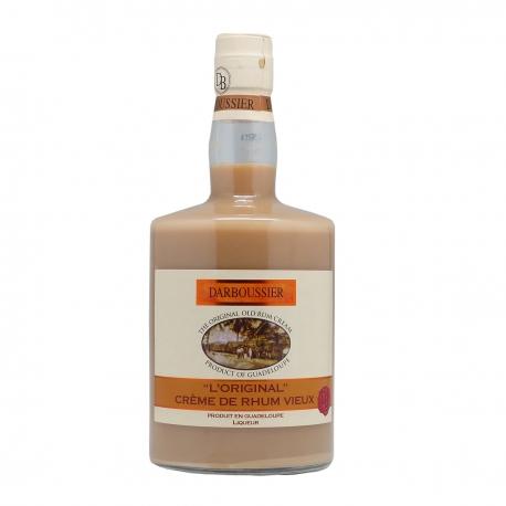 Darboussier Crème de Rhum Vieux 18° 70 cl Guadeloupe