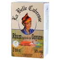 Belle Cabresse Rhum Blanc 50° cubi 2L Guyane