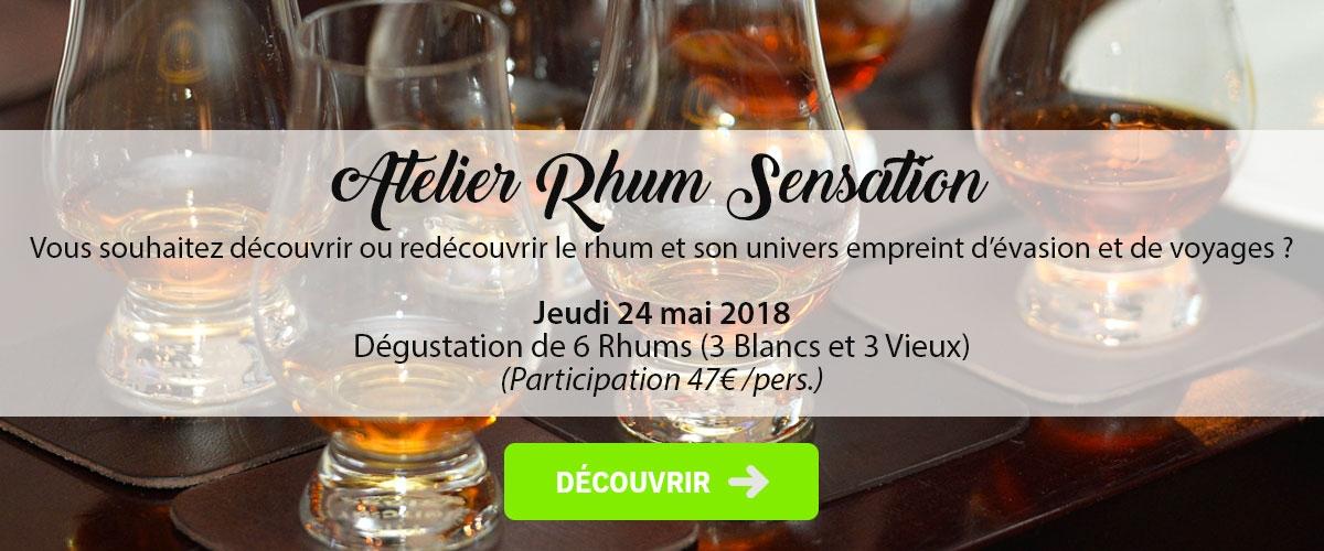 Atelier Rhum Sensation