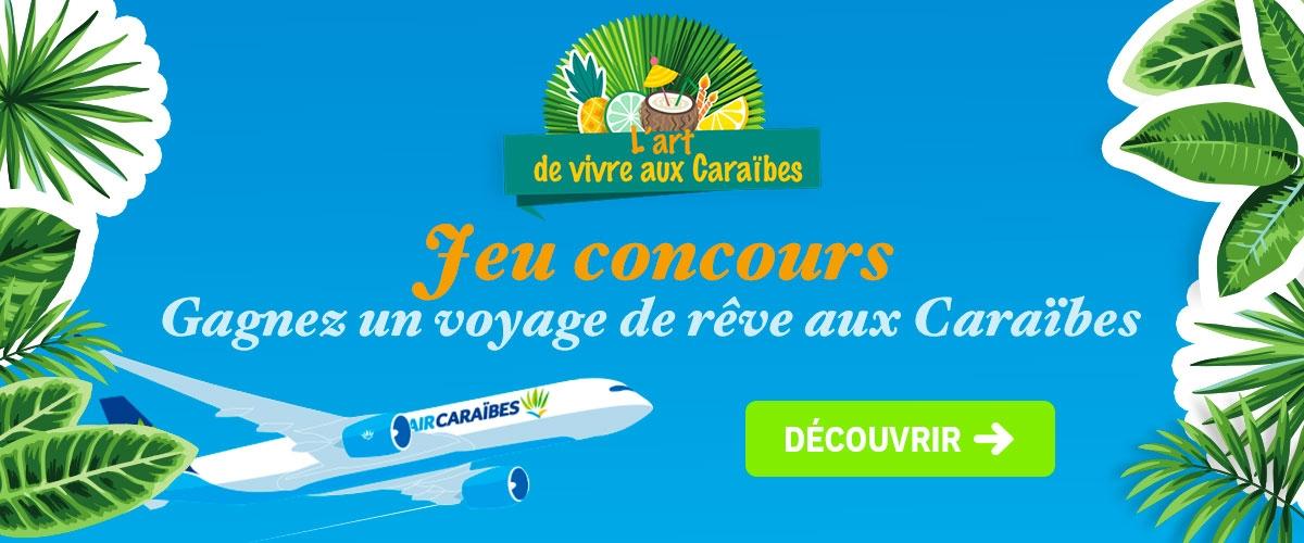 Jeu 10 ans CDM - Air Caraibes