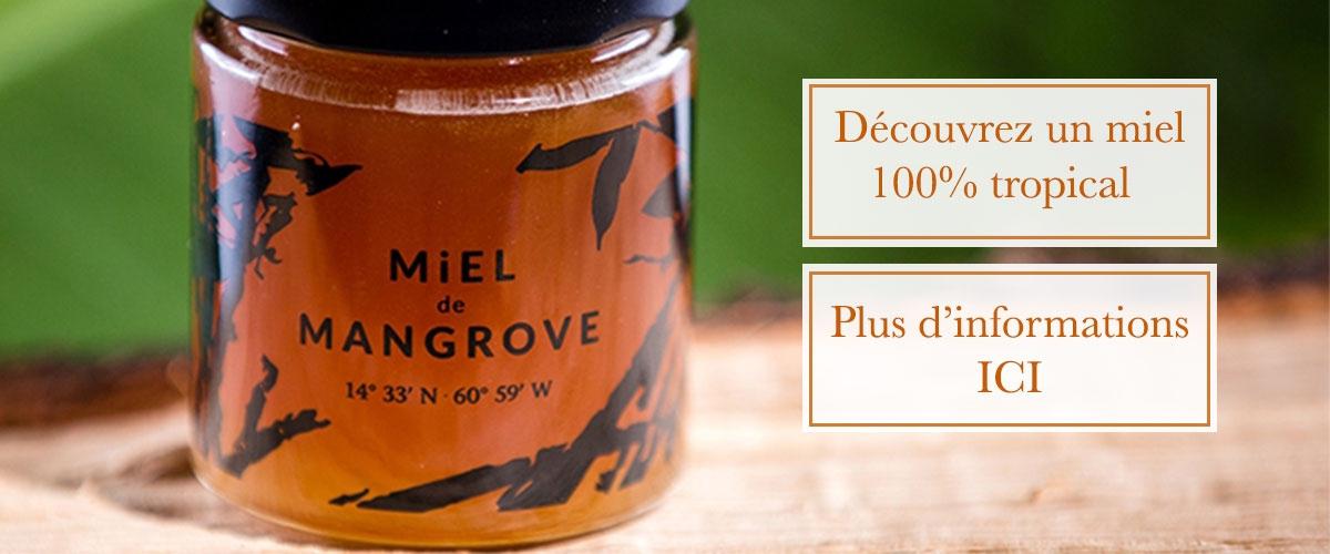 Miel Sauvage - Miel de Mangrove pot 175 g