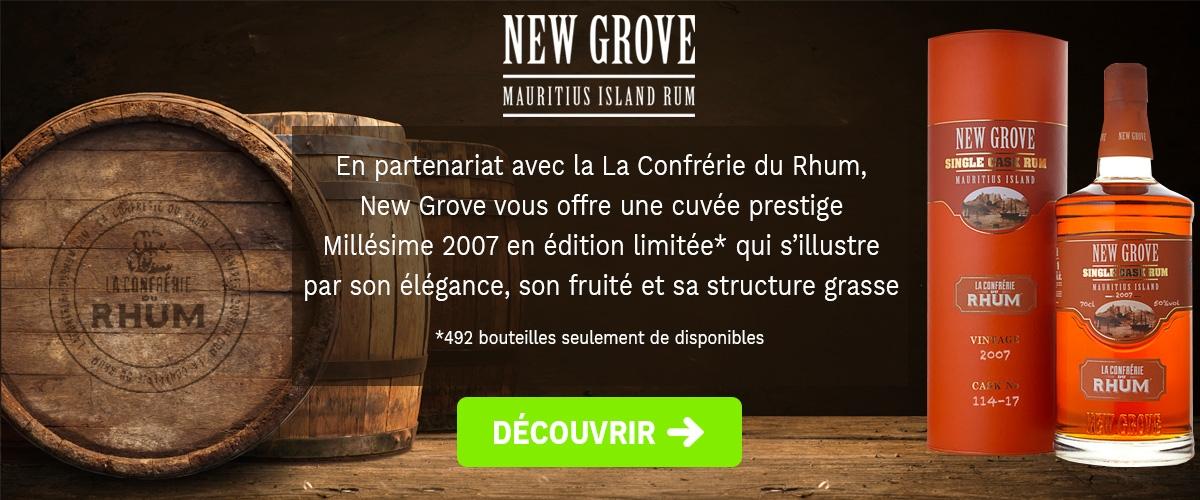 New Grove - Confrérie du Rhum